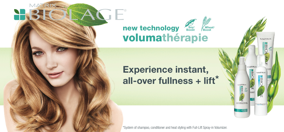 Featuring Matrix Biolage